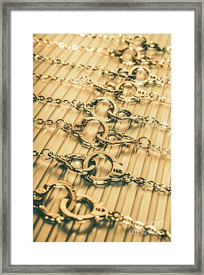 Under Arrest Framed Print