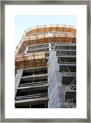 Under Con Struction Framed Print