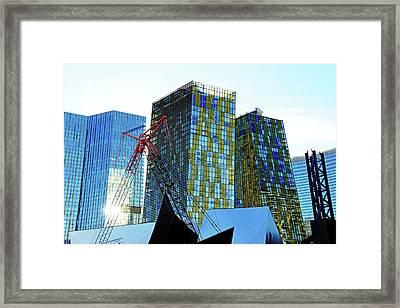 Under Construction Framed Print by Debbie Oppermann