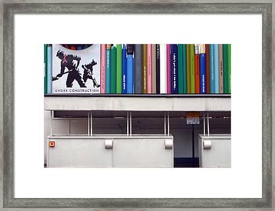 Under Construction Framed Print by Jez C Self