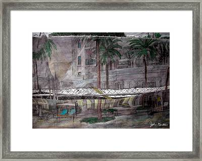 Under Construction Framed Print by John Gerstner