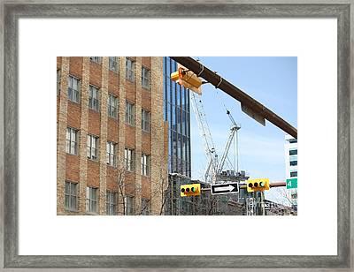 Framed Print featuring the photograph Under Construction by Wilko Van de Kamp