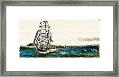 Under Full Canvas Framed Print by Blair Stuart