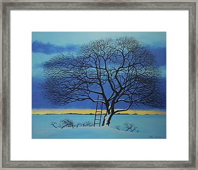 Under Heaven Framed Print by Arthur Barnes