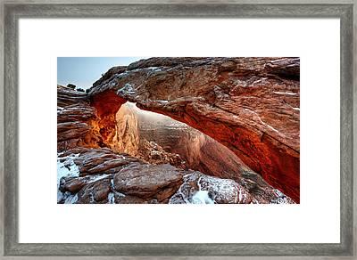 Under Illumination Framed Print