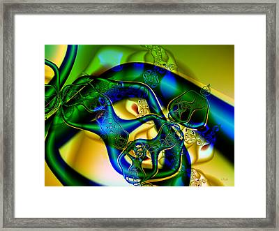 Under My Skin Framed Print