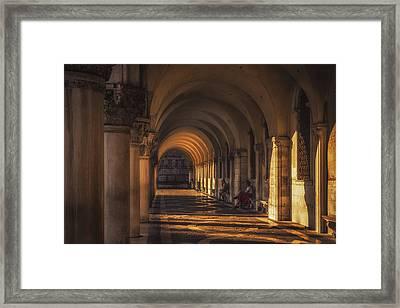 Under Saint Mark's Basilica Framed Print