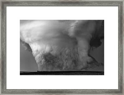 Under Siege Framed Print
