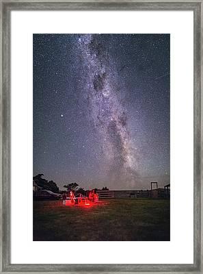 Under Southern Stars Framed Print