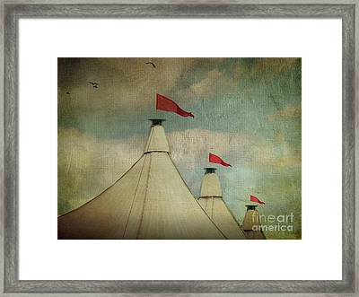 Under The Big Top Framed Print