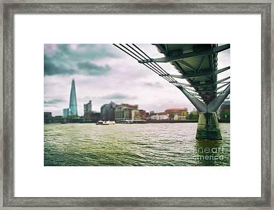 Under The Bridge Framed Print by Alessandro Giorgi Art Photography
