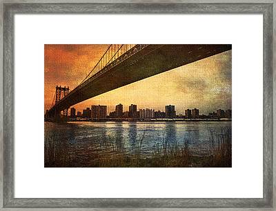 Under The Bridge Framed Print by Svetlana Sewell