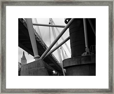 Under The Bridges  Framed Print