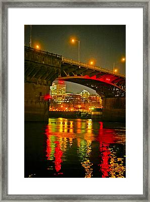 Under The Burnside Framed Print