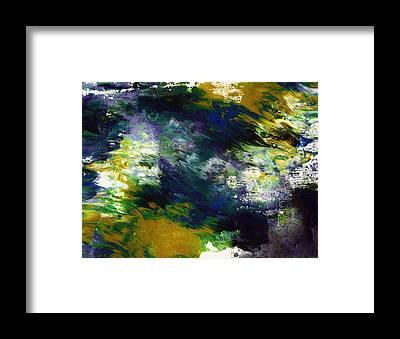Fluid Framed Prints