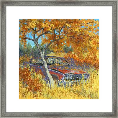 Under The Chinese Elm Tree Framed Print by David King