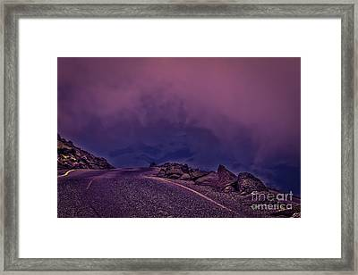 Under The Clouds 2 Framed Print