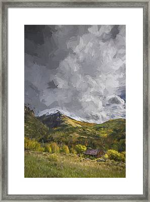 Under The Clouds II Framed Print