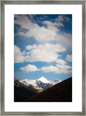 Under The Clouds Framed Print by Konstantin Dikovsky