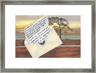 Under The Hopi Tree Framed Print by Todd Hatchett