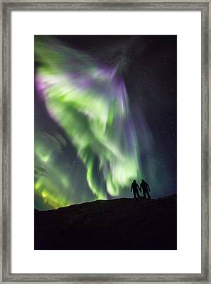 Under The Lights Framed Print by Alex Conu
