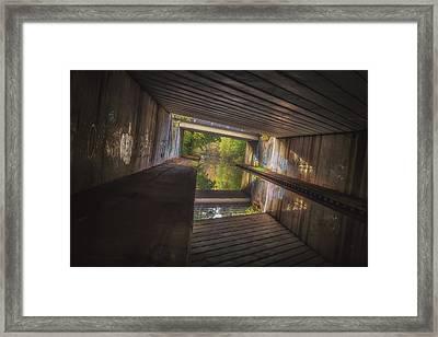 Under The M42 Framed Print by Chris Fletcher