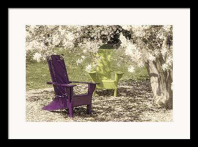 Two Stone Magnolia Framed Prints