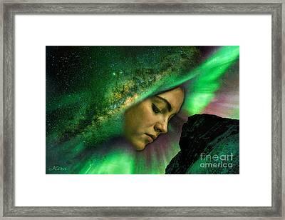 Under The Milky Way Framed Print