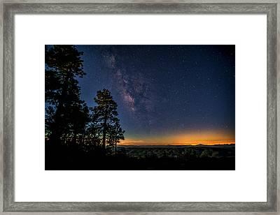 Framed Print featuring the photograph Under The Milky Way  by Saija Lehtonen