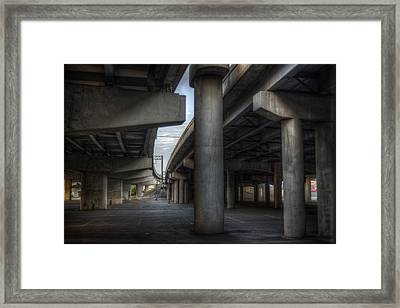 Under The Overpass I Framed Print