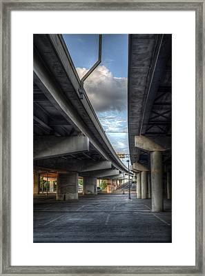 Under The Overpass II Framed Print