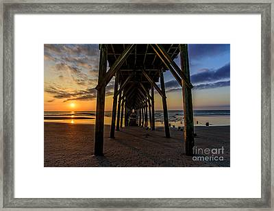 Under The Pier1 Framed Print