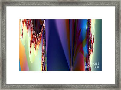 Under The Rainbow Framed Print by Clayton Bruster