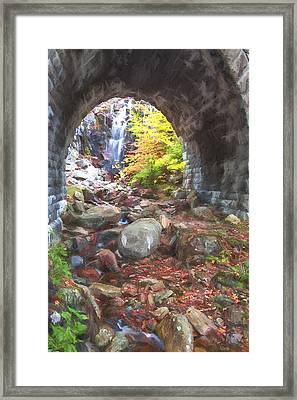 under the Road II Framed Print by Jon Glaser
