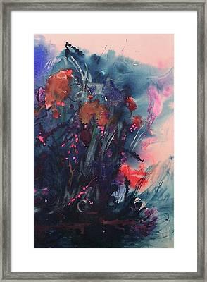 Under The Sea Ballet Framed Print by Sharon K Wilson
