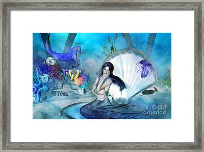 Under The Sea Daydreams Framed Print by Methune Hively