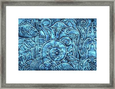 Under The Sea Framed Print by Di Designs
