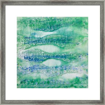 Under The Sea Framed Print by Edward Fielding