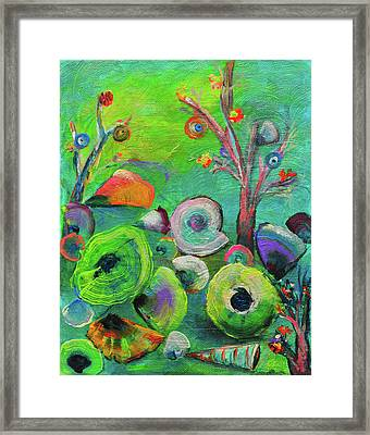 under the sea  - Orig painting for sale Framed Print