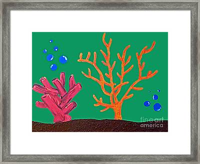 Under The Sea Framed Print by Jilian Cramb - AMothersFineArt