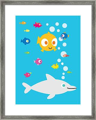Under The Sea Framed Print by Pbs Kids
