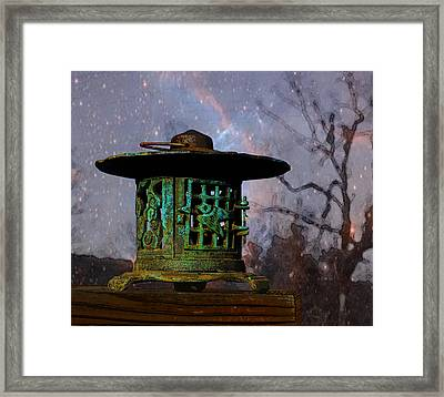 Under The Stars Framed Print by Susan Vineyard