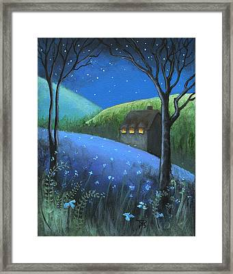 Under The Stars Framed Print by Terry Webb Harshman