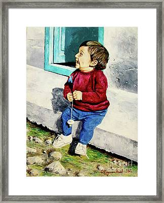 Under The Sun - Debajo Del Sol Framed Print