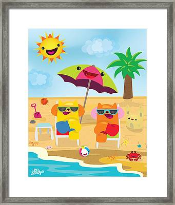 Under The Sun Framed Print by Seedys World