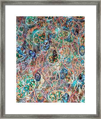 Under The Surface Framed Print