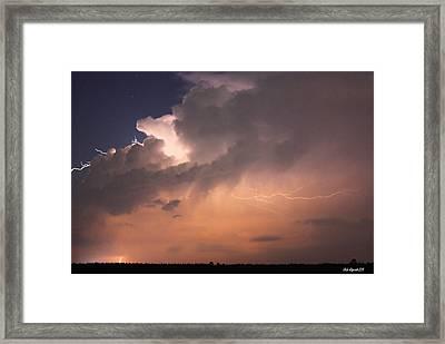 Under The Tempest Framed Print