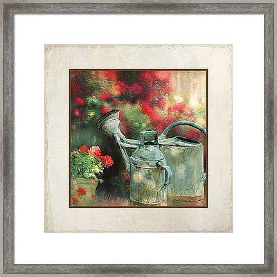 Under The Trees Framed Print by Audrey Jeanne Roberts
