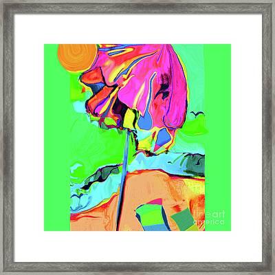 Under The Umbrella No. 3 Framed Print