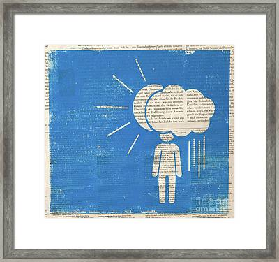 Under The Weather  Framed Print